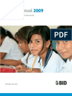 Informe 2009 BID