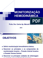 Aula monitorização hemodinâmica