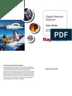 Digital Radome RADAR SCANNER User Guide