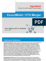 XTO Merger