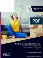 The Flemish Housing Rental Decree 2019