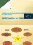 CLASIFICACION DE LOS ACEROS
