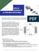 Guide - Differences Entre Un Detendeur Thermostatique Et Electronique
