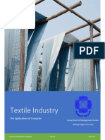 Textile Industry - The Applications of Computer