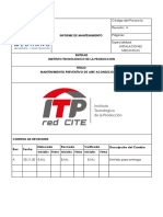 INFORME DE MANTENIMIENTO PREVENTIVO DE AA - ITP