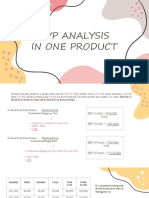 CVP ANALYSIS IN ONE PRODUCT.pptx