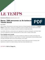 Le Temps - 29 Jan. 2011