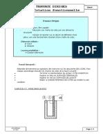 cotation fonctionnelle-TD1