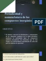 Periodicidad y nomenclatura de los compuestos inorgánicos