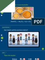 reaçoes quimicas classificacao 1 serie