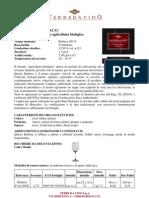 Terredavino Barbera d'Asti Bio 2007
