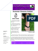 Summer Dreams Anklet