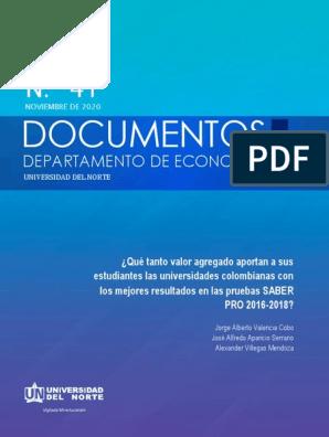 Documentos Departamento de Economía No.41