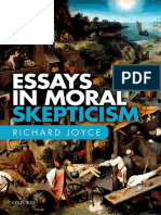 JOYCE, R. 2016. Essays in Moral Skepticism