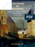 LEE, M.-K. 2014. Strategies of Argument_Essays in Ancient Ethics, Epistemology, and Logic