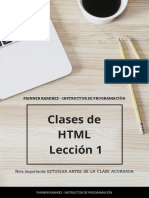 Curso - HTML