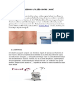 article laser acné