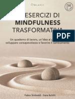 45 Esercizi Di Mindfulness Trasformativa Un Quaderno Di Lavoro - Un Idea Al Giorno - Per Sviluppar--lezza e Favorire Il Cambiamento (Italian Edition)