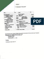 TD bilan financier