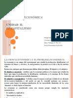 CIENCIA ECONOMICA Y EL CAPITALISMO.