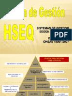 1. SISTEMAS DE GESTION HSEQ