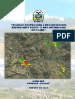 PLAN DE PREVENCIÓN Y REDUCCIÓN DEL RIESGO ANTE COVID-19 DEL DISTRITO DE MARCARÁ-(ordenanza).pdf