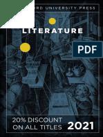 Stanford University Press | Literature 2021