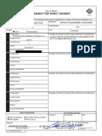 Galvano Redistricting Invoice