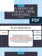 SEMANA 13. Plan Modular