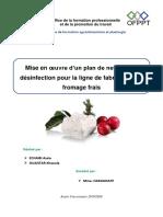 Nettoyage & Désinfection -Fromage Frais- (2)