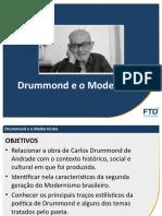 Aula - Língua Portuguesa - Drummond e o Modernismo