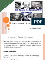 2ª Geração Modernista Brasileira na Poesia