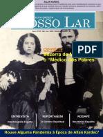 REVISTA ESPÍRITA  NOSSO LAR -MAIO - JUNHO- 2020