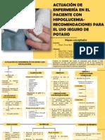 ACTUACIÓN DE ENFERMERÍA EN EL PACIENTE CON HIPOGLUCEMIA RECOMENDACIONES PARA EL USO SEGURO DE POTASIO