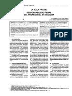La Mala Praxis Responsabilidad penal del profesional en medicina.pdf