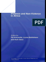 Violence and Non-Violence in Africa (Routledge Studies in International Relations and Global Politic) by Pal. Ahluwalia