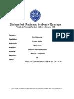 PRACTICA DERECHO COMERCIAL 261 Y 361.