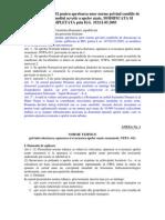 H.G. 188 din 2002 privind Conditiile de Descarcare in Mediul Acvatic a Apelor Uzate
