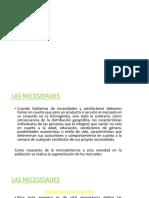 NECESIDADES DEL MERCADO