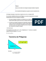 Definición de Teorema de Pitágoras
