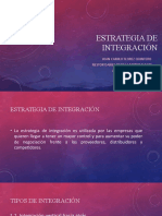 Estrategia de integración