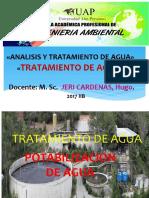 SEMANA 07 TRATAMIENTO DE AGUA  2017 IIB