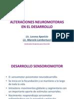 Alteraciones neuromotoras del desarrollo.