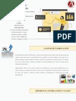 GASTOS DE FABRICACIÓN-PRESUPUESTOS