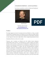 Conselhos aos Filósofos Cristãos - Alvin Plantinga