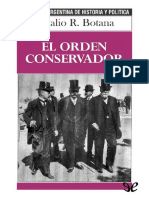 BOTANA- EL ORDEN Conservador
