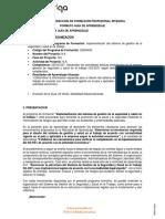G1. CONTEXTO DE LA ORGANIZACION