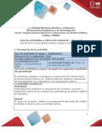 Guía de actividades y rúbrica de evaluación  Tarea 4 - E-Government, nueva gestión pública y gobierno abierto.pdf