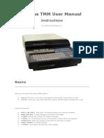 Tajima TMM User Manual.doc