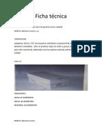 Ficha técnica de las caracteristicas del producto.docx